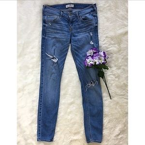 Hollister Jeans - HOLLISTER Light Washed Distressed Jeans